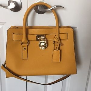 Michael Kors Mustard Yellow Tote